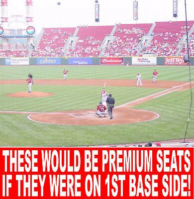 Pittsburgh Pirates @ Cincinnati Reds Tickets 03/28*opening Day Top 1500 Seats!