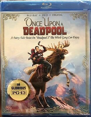 Once Upon a Deadpool (Blu-ray / DVD / Digital HD) Fairy Tale Twist on Deadpool 2