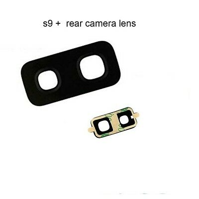Rear Back Camera Glass Lens Cover Replacement For Samsung  S9 Plus With adhesive