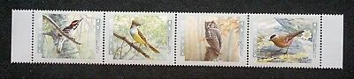 Canada Sc# 1713a (1710-1713)  Audubon BIRDS paintings STRIP of 5 stamps 1998 MNH