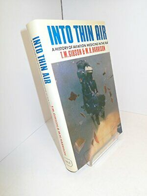 Into Thin Air by Harrison, Mike Hardback Book The Cheap Fast Free Post