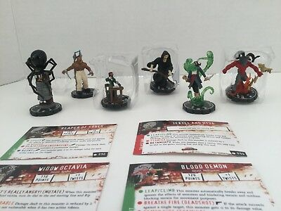 Horrorclix 6 most wanted miniatures + Limited Edition