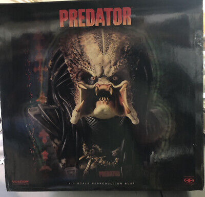 Rare 1st Edition Predator 1.1 Life Size Bust By Stan Winston And Sideshow