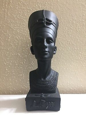 X large Queen Nefertiti of Egypt Hand Carved Statue Ancient Antique collectible