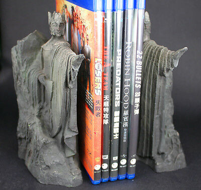 Hobbit The Lord of the Rings The Gates of Gondor Argonath Resin Statue Bookends