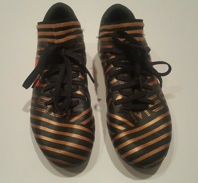 ADIDAS JR NEMEZIZ 17.4 FG Small Kid s Soccer Cleats Size 4.5 S82458 ... 59301db03
