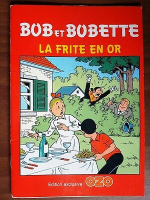 Bob et Bobette La frite d'or ( mini album )