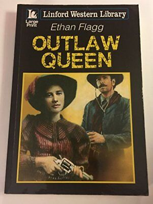 Outlaw Queen (Linford Western Library) by Flagg, Ethan Book The Cheap Fast Free