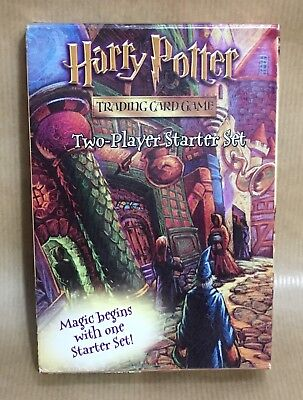 Harry Potter Trading Card Game - Two Player Starter Set 2001 New