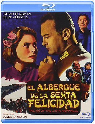 THE INN OF THE SIXTH HAPPINESS (1958) **Blu Ray B**  Ingrid Bergman, Curd Jürgen