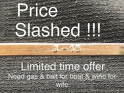 Silver Soldering Rods 15 % . 28 Rods , One Pound , Straight ,Tube Packed, Sale !