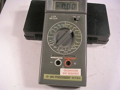 BK Precision 875A LCR Meter  TESTED NICE