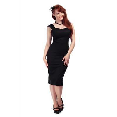 676708522 REDUCED Valentines Day Modcloth Collectif Retro Princess Little Black Dress  PLUS