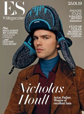 Nicholas Hoult  Es Magazine (Uk) 19 October 2019