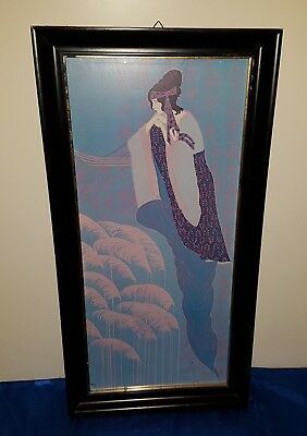 Siebdruck Serigrafie  Lillian Shao Serigraph ca. 80*40 cm The Evening