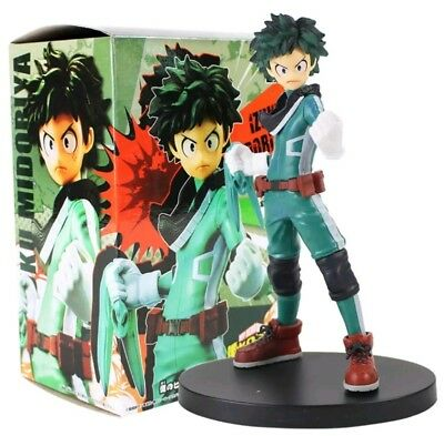 Action- & Spielfiguren MY HERO AKADEMIE/ FIGUR IZUKU MIDORIYA 15 CM BATTLE SEHEN IN SCHACHTEL