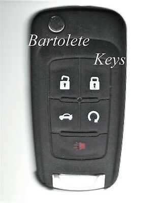 Keyless Entry Remote Car Key Fob Fits 2011 2012 2013 2014 Buick Regal Verano