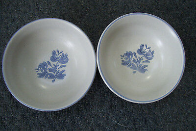 "Pfaltzgraff  ""Yorktowne""  Set Of  2 Soup Cereal 6"" Bowls"