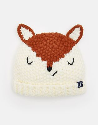 Joules Baby Chummy Character Hat 6 12 in FOX Size 6min12m