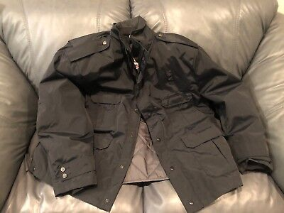 Blauer 9910Z Security Police Winter Jacket Gore-tex XXL Black EMT Coat Patrol