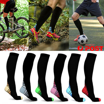 CFR 15-30mmHg Medical Compression Socks Support Stockings Travel Flight Socks AU