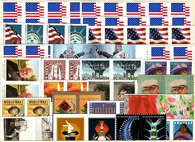 50 Forever Stamps at face value (55c each) + free shipping USA!