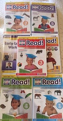 Your Baby Can Read Development Learning Program Set DVD Books