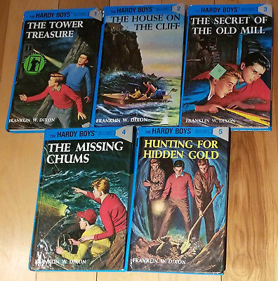 Hardy Boys By Franklin W Dixon Matching Hardcover Collection Set