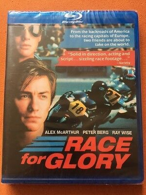 Race For Glory (1989) (Blu-Ray) CODE RED - STILL SEALED!!