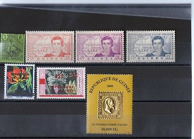 Guinea - not used - 1904 - 1939 - 1958 - 2009