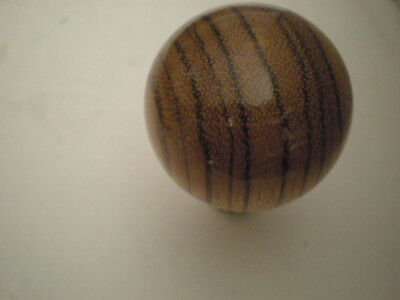 NOS Wood Shift knob--automatic 3 speed 4 speed universal Custom Rat Rod Muscle