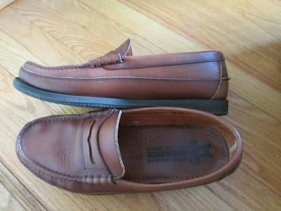 b08517c00b4 Mens Mephisto Spinnaker brown leather penny loafers shoes US 12 Portugal