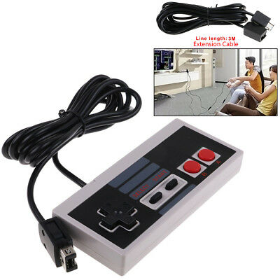 Remote Controller / 6Ft Extension Cable for Nintendo Mini NES Classic Console CA