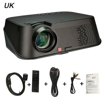AU 3500 lumen Mini LCD LED HD 1080P Projector Multimedia Home Theater Cinema New