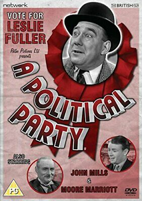 A Political Party [DVD] - DVD  0IVG The Cheap Fast Free Post