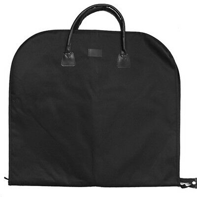 Suit Carry Cover Garment Travel Storage Protector Bag Holder Carrier Black A33X