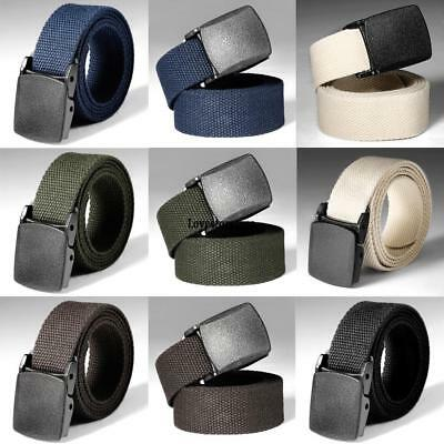 Nylon Breathable Military Tactical Men's Waist Belt With Plastic Buckle