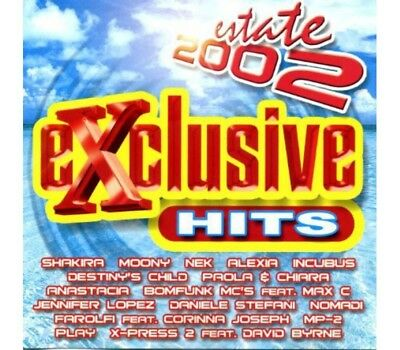 Various – Exclusive Hits - Estate 2002 – (CD Comp.)