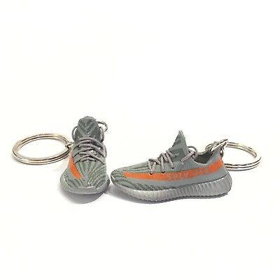 madxo   3D mini sneaker keychain yee zy boost 350 V2 beluga real laces 47- 819380dd3