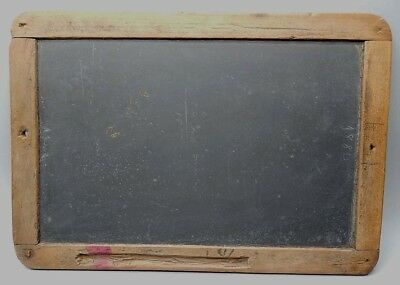 Antique 19th Century Child's School Writing Slate 8 x 11