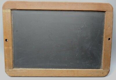 Antique 19th Century Child's School Writing Slate 8 x 11 Very Clean