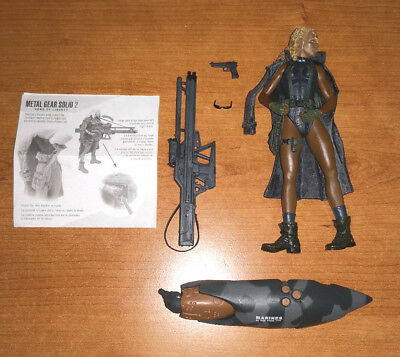 Modellino action figure FORTUNE METAL GEAR SOLID 2 McFarlane Toys SPAWN nuovo