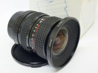 Sirius 18-28mm F4-4.5 Contax/Yashica Mount Lens, Boxed. Stock No c1361