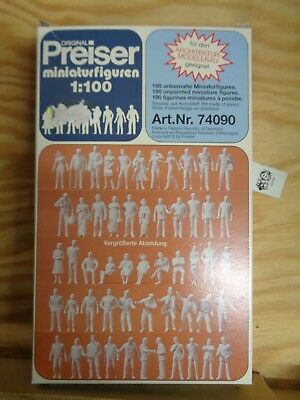 1:100 Preiser 74090 190 Non-Peintes Miniaturfiguren. Kit. Emballage D'Origine