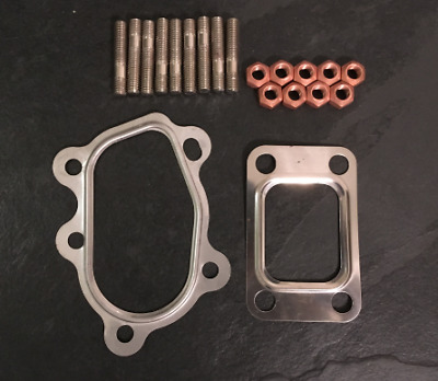 "MAL-058 Garrett Turbo T25 Fitting Kit + Pair of 3"" / 76mm Gaskets"