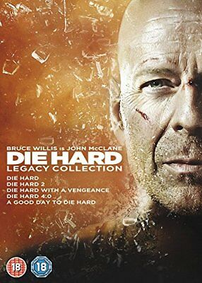 Die Hard: Legacy Collection (Films 1-5) [DVD] [1988] -  CD E2LN The Fast Free
