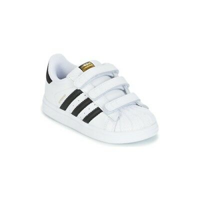 cheap for discount ff6a3 2749d scarpe neonato neonata ADIDAS ORIGINALS SUPERSTAR CF I Bianco baby bambino