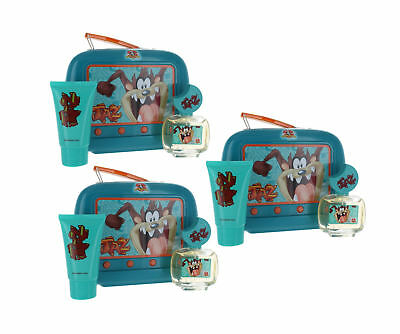 Taz by Looney Tunes for Kids Combo Pack: Gift Set-Lunch Box New in Box 3PK