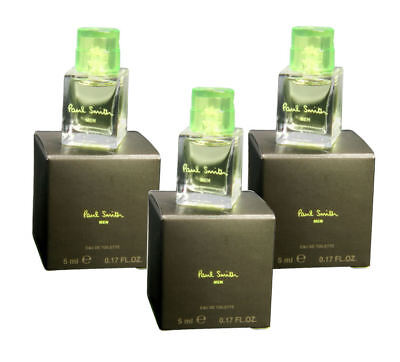 Paul Smith by Paul Smith for Men Combo Pack: EDT 0.51oz (3x 0.17oz minis) NIB