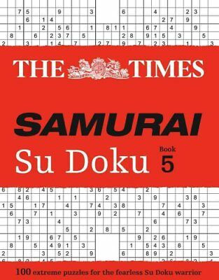 The Times Samurai Su Doku 5 100 Challenging Puzzles from the Times 9780008173821